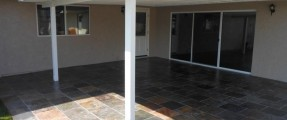SOLID COVERED PATIO, 18×18 SLATE